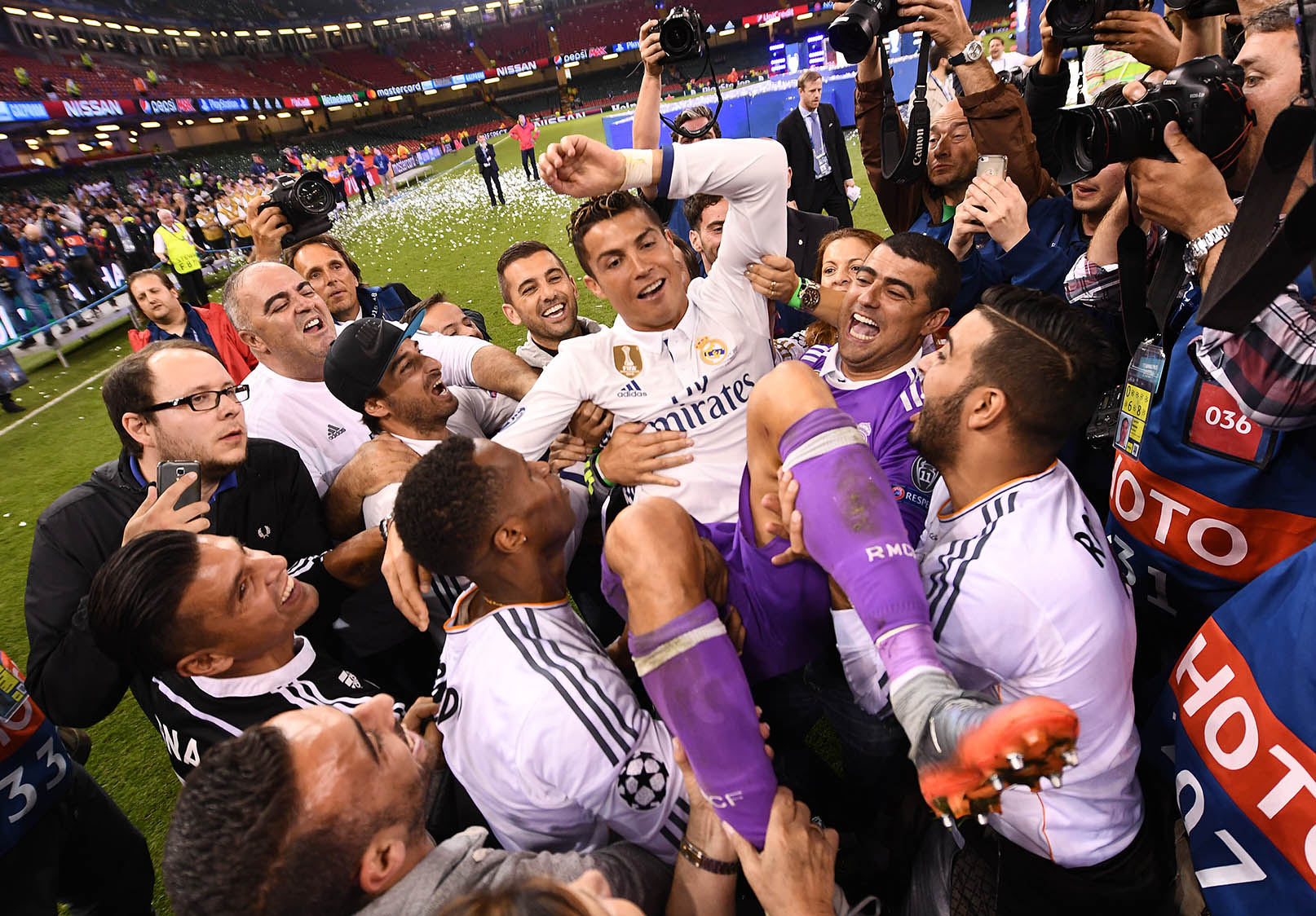 Ronaldo Wins Champions League in Cardiff