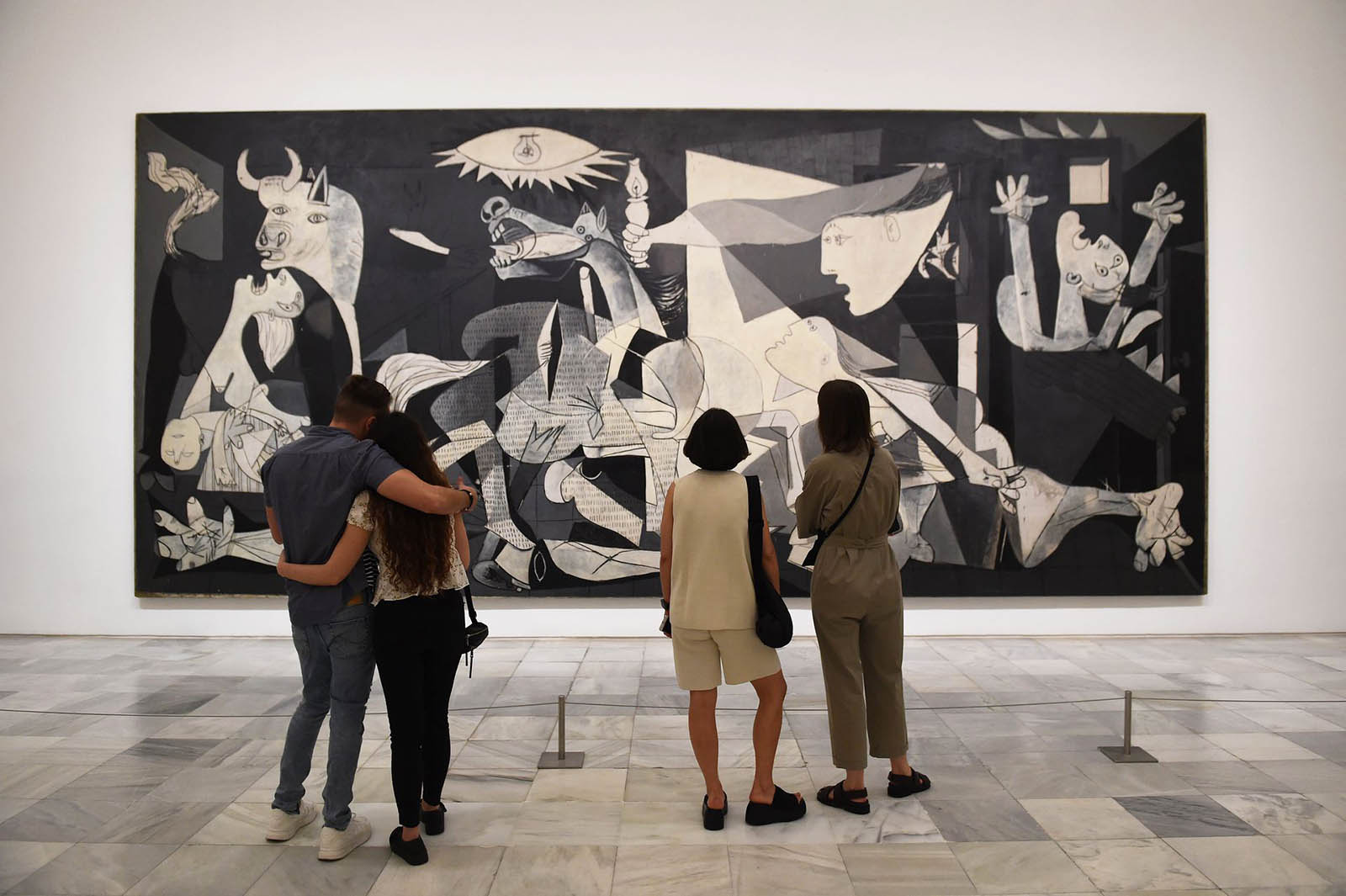 Reina Sofia Museum Reopens In Madrid